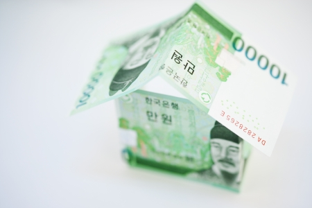 Money in south korea photo