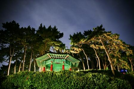 Beautiful night view in South Korea , Busan Gwanganli photo