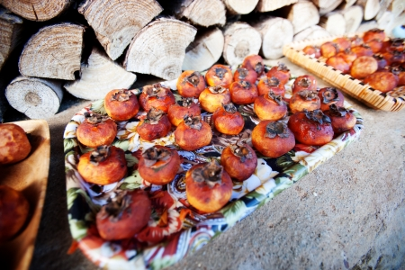 persimmons: Dried persimmons