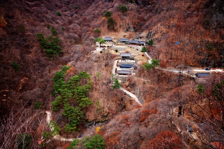 Cheongryangsa' temples in south korea' photo