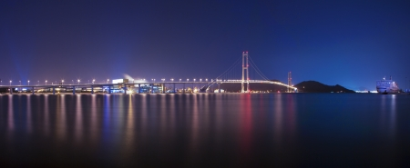 Beautiful bridge in South Korea,Yi Sun-sin  Bridge  photo