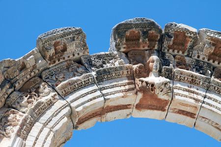 hadrian: Temple of Hadrian, Turkey
