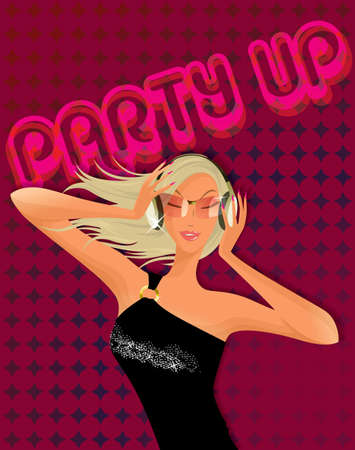 party dj: Sexy DJ Party Girl