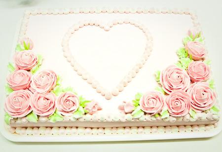 Wedding Cake in Wedding Day Banco de Imagens