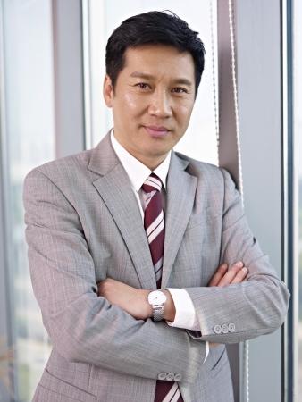 portrait of an asian businessman Stock Photo
