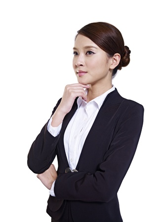 studio portrait of a young asian businesswoman Stock Photo - 18624769