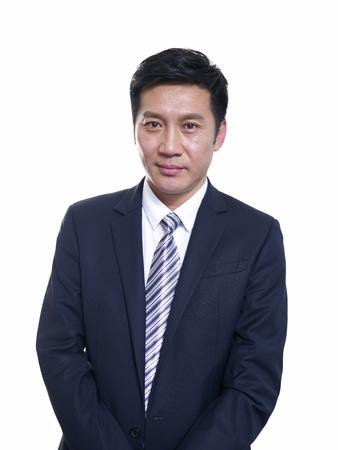 studio portrait of an asian businessman  photo