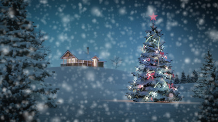 christmas theme: computer generated background image with christmas theme.
