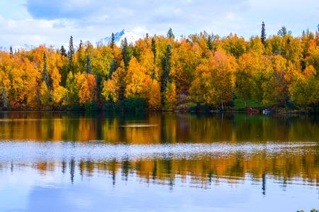 Alaska Lake in the Fall