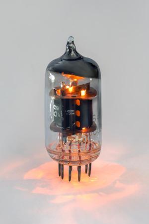Vacuum tube triode-pentode 6F1P