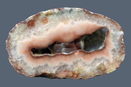 A slice of agate