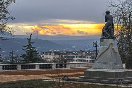 pyatigorsk: The best in the Russian monument Lermontov in Pyatigorsk Editorial