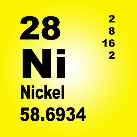 Nickel is a chemical element with symbol Ni and atomic number 28