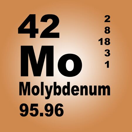 Molybdenum is a chemical element with symbol Mo and atomic number 42. Imagens