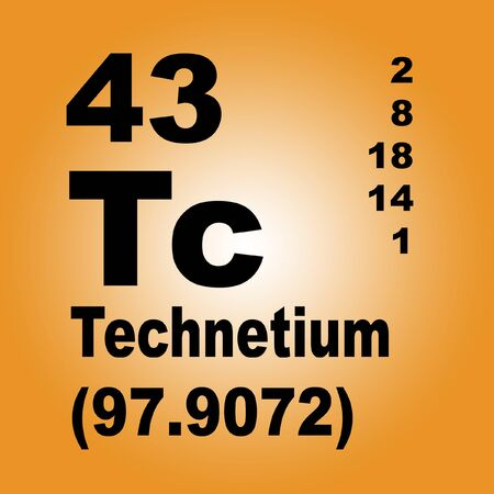 Technetium is a chemical element with symbol Tc and atomic number 43