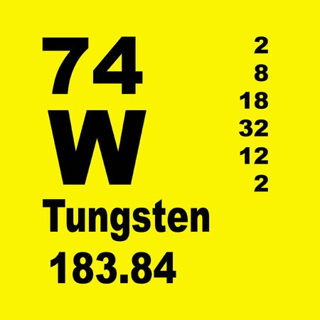 Le tungstène, également connu sous le nom de wolfram, est un élément chimique de symbole W et de numéro atomique 74.