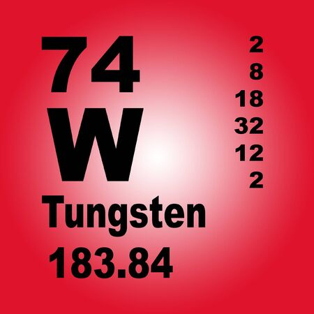Tungsten, also known as wolfram, is a chemical element with symbol W and atomic number 74.