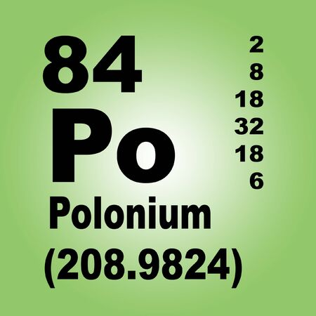 Polonium is a chemical element with symbol Po and atomic number 84, discovered in 1898 by Marie Curie and Pierre Curie.