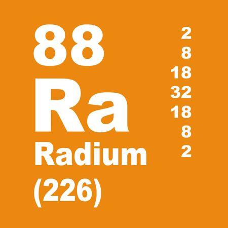Rad to pierwiastek chemiczny o symbolu Ra i liczbie atomowej 88.