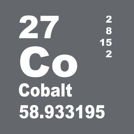 Cobalt is a chemical element with symbol Co and atomic number 27.