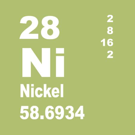 Nickel is a chemical element with symbol Ni and atomic number 28 Imagens