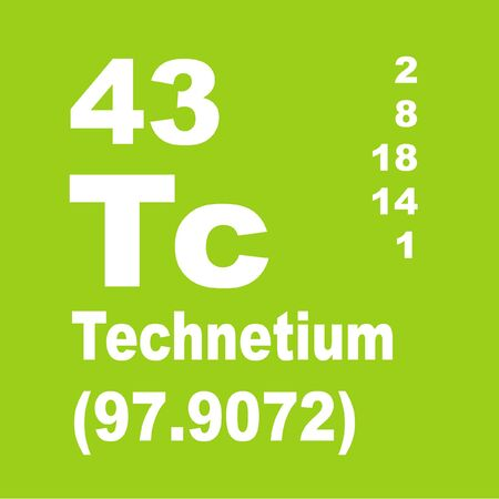 Technetium is a chemical element with symbol Tc and atomic number 43 Banque d'images