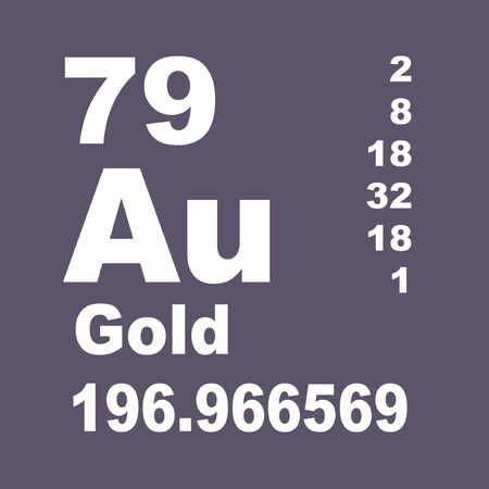 Gold is a chemical element with symbol Au (from Latin: aurum) and atomic number 79