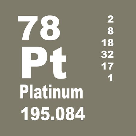 Platinum is a chemical element with symbol Pt and atomic number 78.