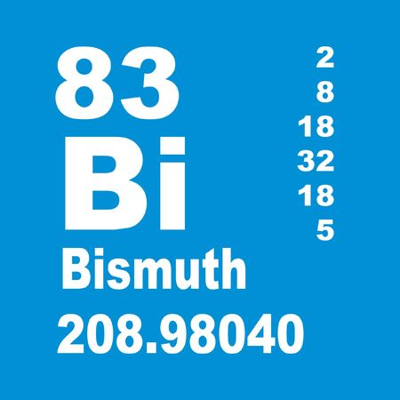 Bismuth is a chemical element with symbol Bi and atomic number 83.