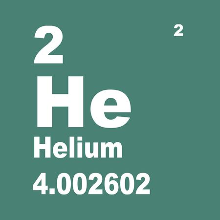Helium is the chemical element with atomic number 2. 스톡 콘텐츠