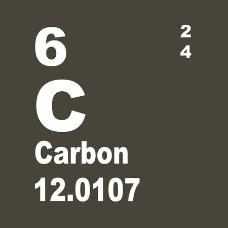 Carbon is a chemical element with symbol C and atomic number 6.
