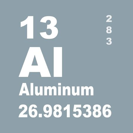 Aluminium or aluminum is a chemical element in the boron group with symbol Al and atomic number 13