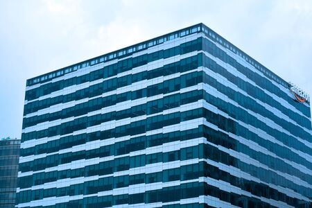 PASAY, PH - DEC. 7: Amazon building facade on December 7, 2019 in Pasay, Philippines.