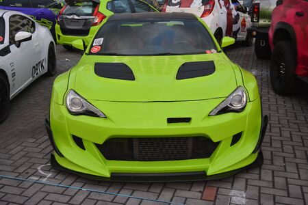 PASAY, PH - DEC. 7: Toyota 86 at Bumper to Bumper 15 car show on December 7, 2019 in Mall of Asia Concert Grounds, Pasay, Philippines.