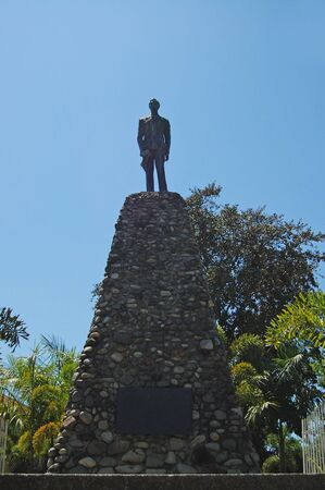 ILOCOS NORTE, PH - APR. 10: Marcos monument on April 10, 2009 in Batac, Ilocos Norte, Philippines.