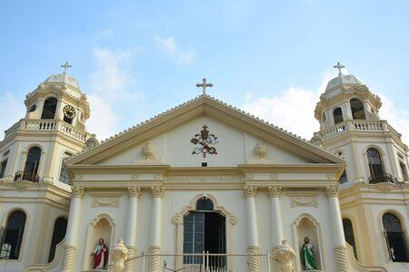 MANILA, PH - OCT. 5: Minor Basilica of the Black Nazarene or also known as Quiapo church facade on October 5, 2019 in Manila, Philippines. 新聞圖片