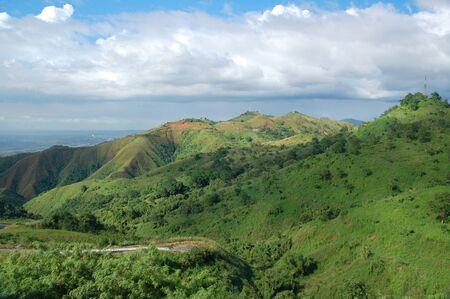 Surrounding mountains in San Mateo, Rizal, Philippines