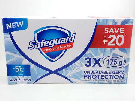 MANILA, PH - APR. 10: Safeguard arctic fresh soap on April 10, 2020 in Manila, Philippines.