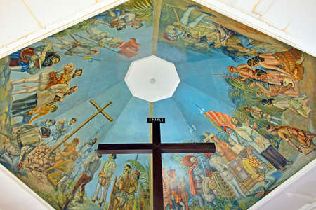 CEBU, PH - JUNE 17 - Magellan's Cross on June 17, 2017 in Cebu, Philippines.