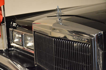 QUEZON CITY, PH - APR. 28: 1980 Lincoln Continental Mark VI used by President Ferdinand Marcos display at Presidential Car Museum on April 28, 2019 in Quezon City, Philippines. Editorial