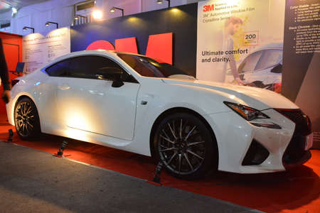 PASAY, PH - APR 7 - Lexus rc at Manila International Auto Show on April 7, 2019 in Pasay, Philippines. 新聞圖片