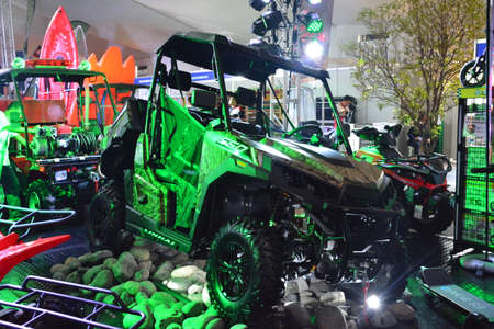 PASAY, PH - APR 7 - UCM all terrain vehicle at Manila International Auto Show on April 7, 2019 in Pasay, Philippines.