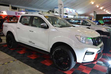 PASAY, PH - APR 7 - Nissan navara pick up at Manila International Auto Show on April 7, 2019 in Pasay, Philippines.