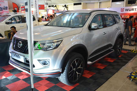 PASAY, PH - APR 7 - Nissan terra suv at Manila International Auto Show on April 7, 2019 in Pasay, Philippines.