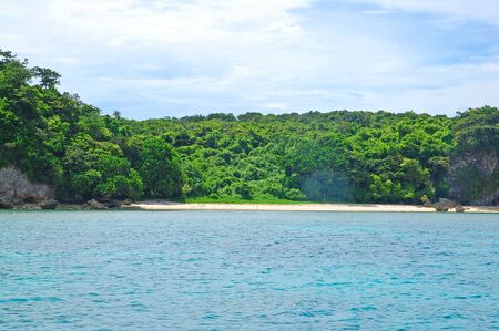 Beach at Boracay island in Aklan, Philippines