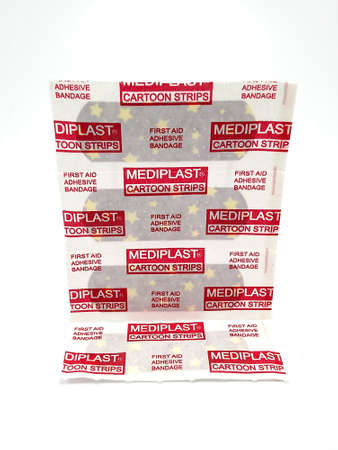 MANILA, PH - JUNE 23 - Mediplast cartoon strip first aid adhesive bandage on June 23, 2020 in Manila, Philippines. Editorial