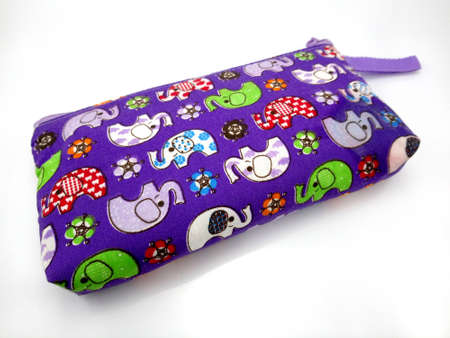 MANILA, PH - JUNE 23 - Elephant pouch purple case at Thailand on June 23, 2020 in Manila, Philippines.