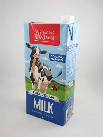 MANILA, PH - SEPT 7 - Australias own full cream milk on September 7, 2020 in Manila, Philippines. Editorial