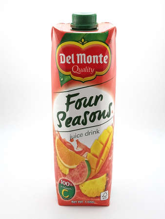 MANILA, PH - SEPT 25 - Del monte four seasons juice on September 25, 2020 in Manila, Philippines. Editorial