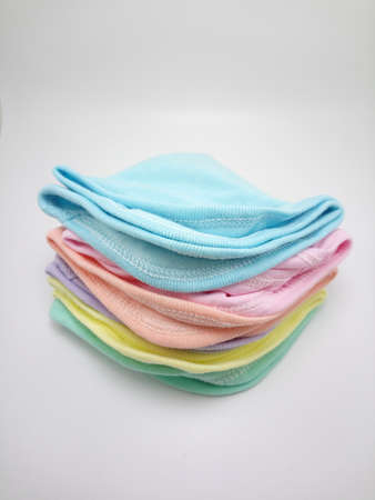 Square face cloth wipe for baby